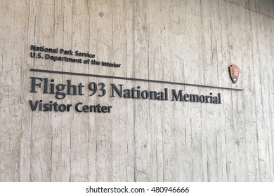 SHANKSVILLE, PA - AUGUST 17: Flight 93 National Memorial Visitor Center located near Shanksville, PA on August 17, 2016.