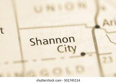 Shannon City. Iowa. USA.