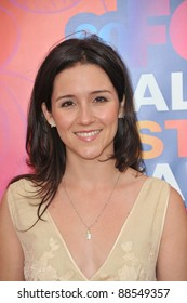 """Shannon Woodward - star of """"Raising Hope"""" - at Fox TV's All Star Party at Santa Monica Pier. August 2, 2010  Santa Monica, CA Picture: Paul Smith / Featureflash"""