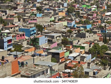 Shanty Town Favela near Mexico City
