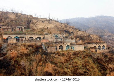 Shanxi Mountain Village Architectural Scenery in China