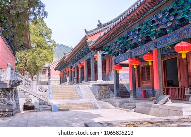 Shaolin is a Buddhist monastery located on Songshan Mountain, near the city of Luoyang, China