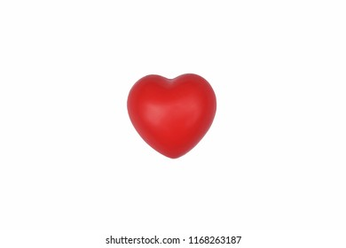 Shape of Red Heart,Desing for Japan nation flag.Concept of Love and Health care.World heart day,World health day.Valentine's day.Heart isolated on white background.
