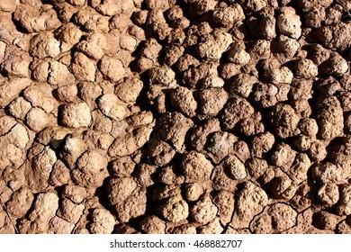 Shape of soil