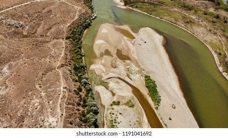 Shapes and Faces by the Colorado River