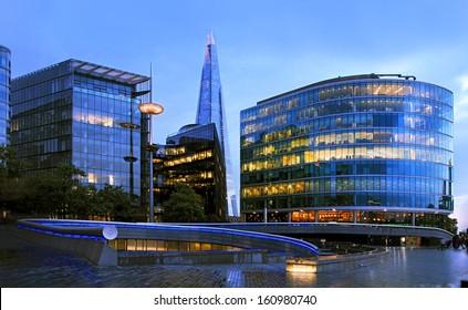 Shard skyscraper at Southwark, London.