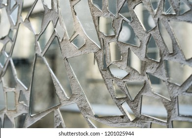 Shards Of Mirror Images Stock Photos Vectors Shutterstock