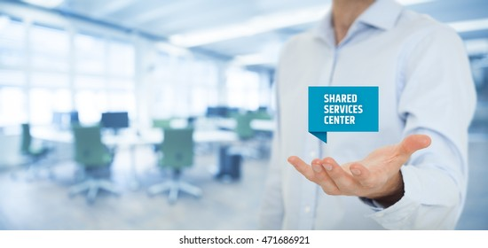 Shared services images stock photos vectors shutterstock shared services center ssc concept businessman hold virutal label with text shared services publicscrutiny Gallery