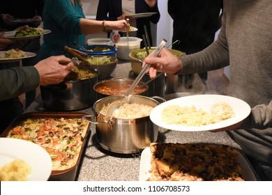 Sharing food together
