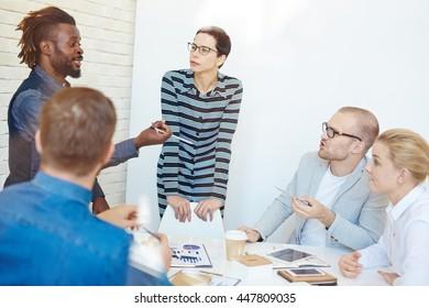 Sharing ideas