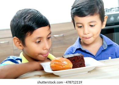 sharing sweet moments