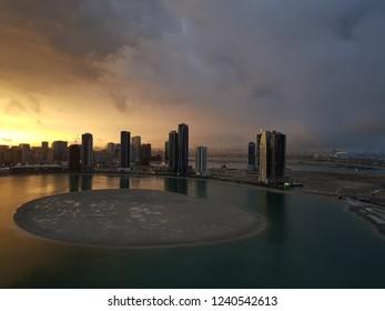 Sharjah after storm