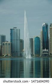 Sharjah city in the morning - United Arab Emirates, Sharjah city - 15/03/2019