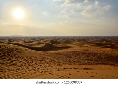 Sharjah desert area, one of the most visited places for Off-roading by off roaders