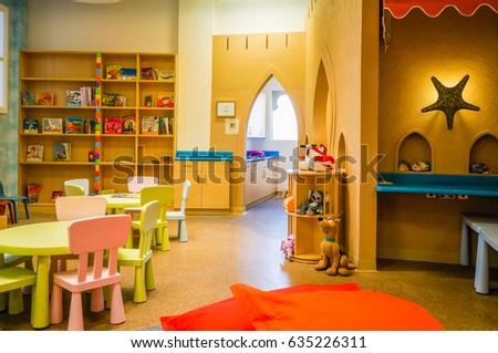 Sharjah summer 2016 modern interior childrens stock photo edit now