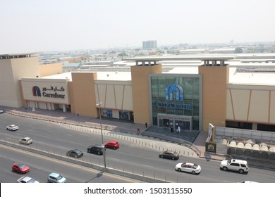 Sharjah, UAE - September 13, 2019: City Centre Sharjah is a 51,428sqm mall with fashion and lifestyle stores, Carrefour hypermarket, 12-screen VOX Cinemas, food court and kids' entertainment centre.