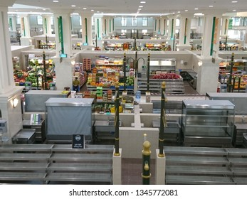 Sharjah, United Arab Emirates - February 02 2017: A view of the produce for sale at the Souk Al Jubail in Sharjah