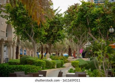 Sharjah,UAE - 1 10 2020 : Al Qasba canal