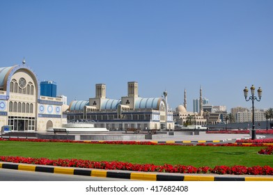 SHARJAH,United Arab Emirates - MARCH 9,2012:Gold Central market of Sharjah in the UAE