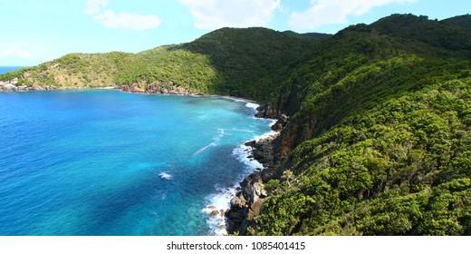 Shark Bay National Park of Tortola