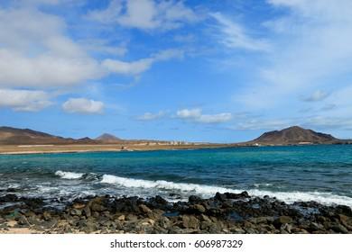 SHARK BAY , SAL ISLAND , CAP VERDE
