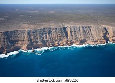Shark Bay / Zuytdorp cliffs from the air