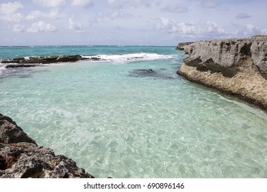 Shark Hole. A naturally formed swimming hole on the east coast of Barbados, Shark Hole has public access for a safe dip in the sea.