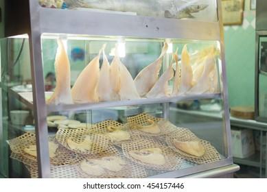 Shark's fin restaurant in Bangkok, Thailand.