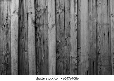 Sharkskin Grey Old Log Cabin Wall Texture. Dark Rustic House Log Wall. Horizontal Timbered Background.