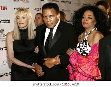 Sharon Stone, Muhammad Ali, Diana Ross at Muhammad Ali's Celebrity Fight Night XIII ,JW Marriott Desert Ridge Resort & Spa, Phoenix, AZ, March 24, 2007