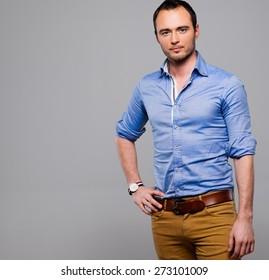 Sharp dressed fashionist man