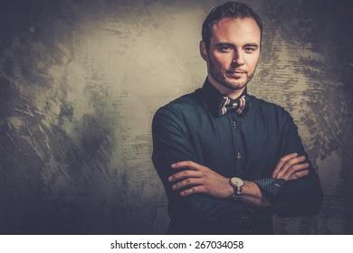 Sharp dressed fashionist wearing bow tie