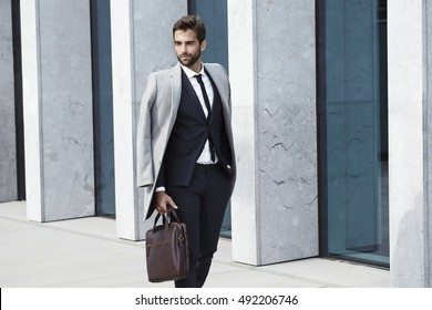 Sharp dressed guy in business attire