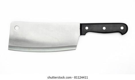 Sharp knife of the butcher