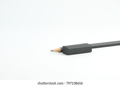sharp pencil on background