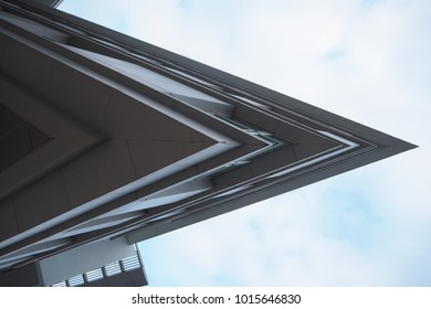 sharp shape building