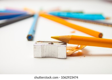 sharpened yellow pencil