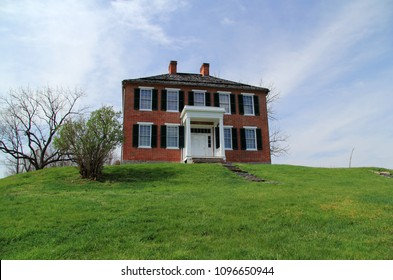 SHARPSBURG, MD – APRIL 14: The Pry House served as both field hospital and headquarters to Union General George B. McClellan during the Civil War's Battle of Antietam April 14, 2018 in Sharpsburg, MD