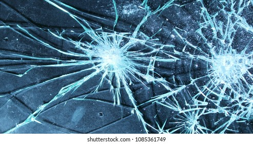 cracked glass animation