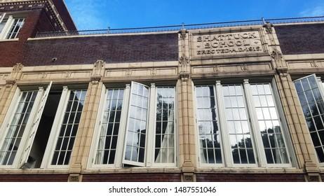Shattuck Hall, Portland State University, Portland, Oregon, USA - 14 AUG 2019