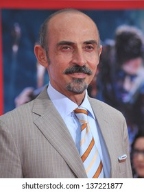 """Shaun Toub at the Los Angeles premiere of his movie """"Iron Man 3"""" at the El Capitan Theatre, Hollywood. April 24, 2013  Los Angeles, CA"""