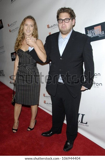 Shauna Robertson Jonah Hill Hamilton Hollywood Stock Photo