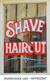Shave and Haircut Sign