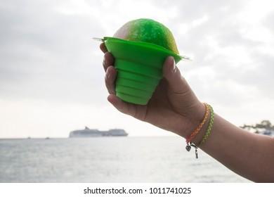 Shave Ice & Cruise Ship