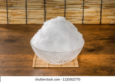 Shaved ice of summer