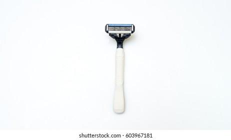 Shaver on white background