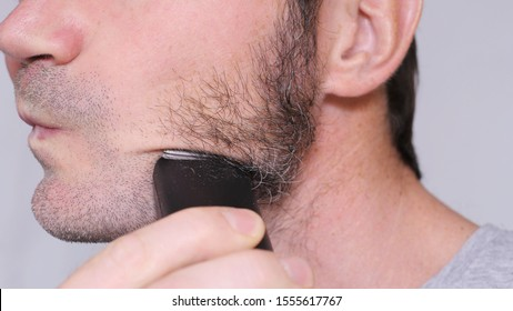 Shaving Sideburns With Electric Shaver