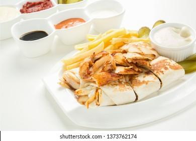SHAWARMA PLATE ARABIC