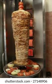 Shawarma - a popular dish in a fast-food staple in Israel.