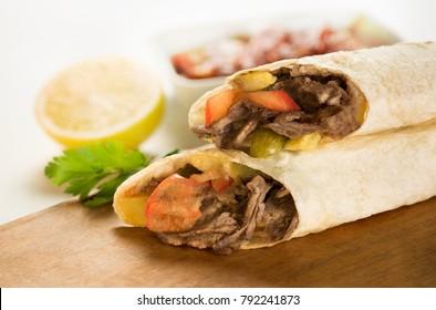 Shawarma sandwich, Doner Kebab